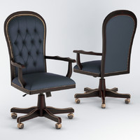 diderot swivel armchair 3D model