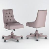 seven sedie edward 3D model
