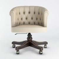 3D seven sedie locke model