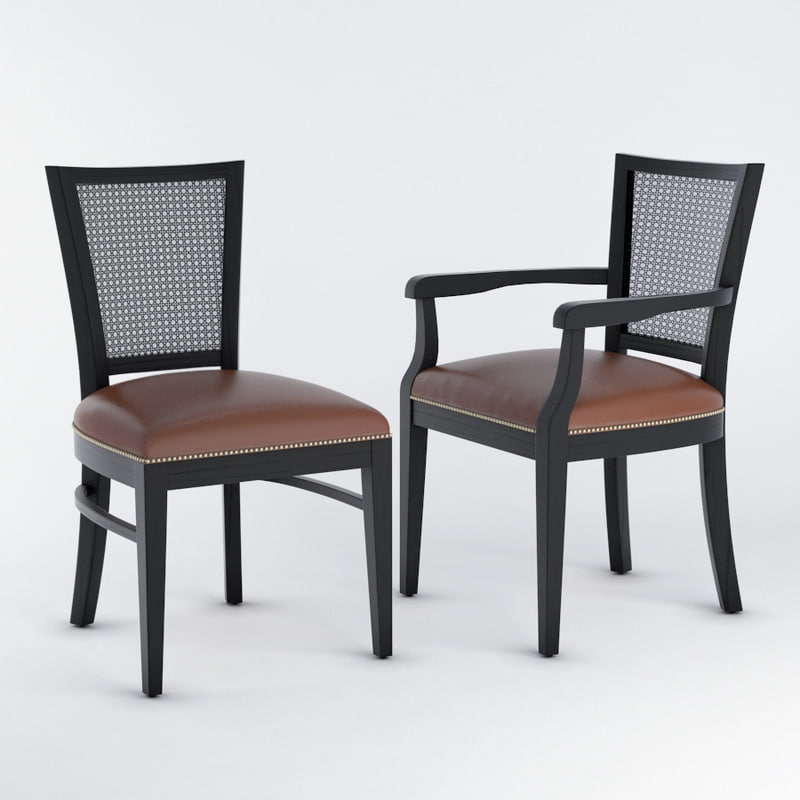 seven sedie chair 3D model