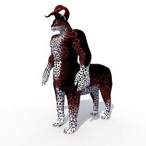 3D model fantasy character agamevu