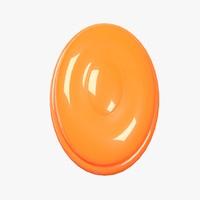 3D model candy orange