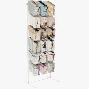 3D pantyhose rack