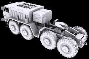 maz maz-537 3D model