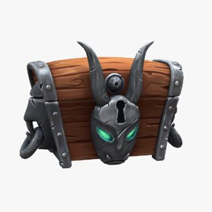 magic chest 3D