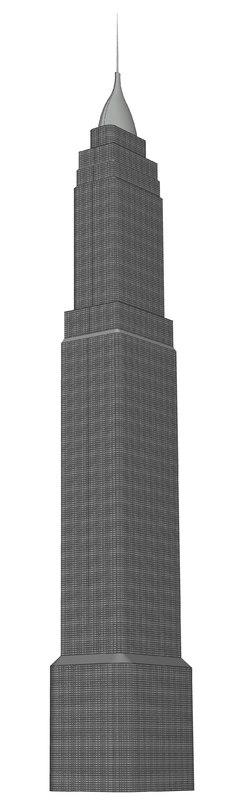 rise sky scraper 3D model