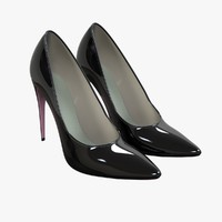 heel shoe v2 3D model