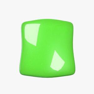 candy green 3D model