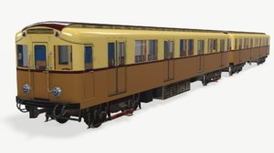 ready subway train model