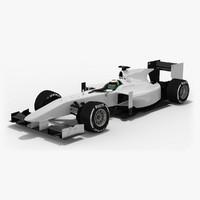 3D generic formula 2 season model