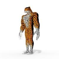 3D fantasy character model