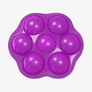 3D candy purple