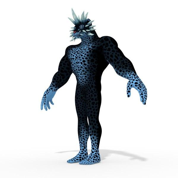 fantasy character isi-opi 3D