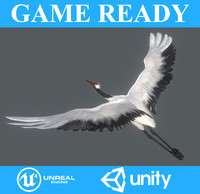 crane animation 3D model