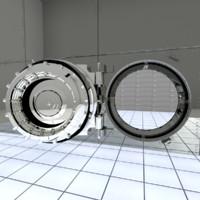 bank vault model