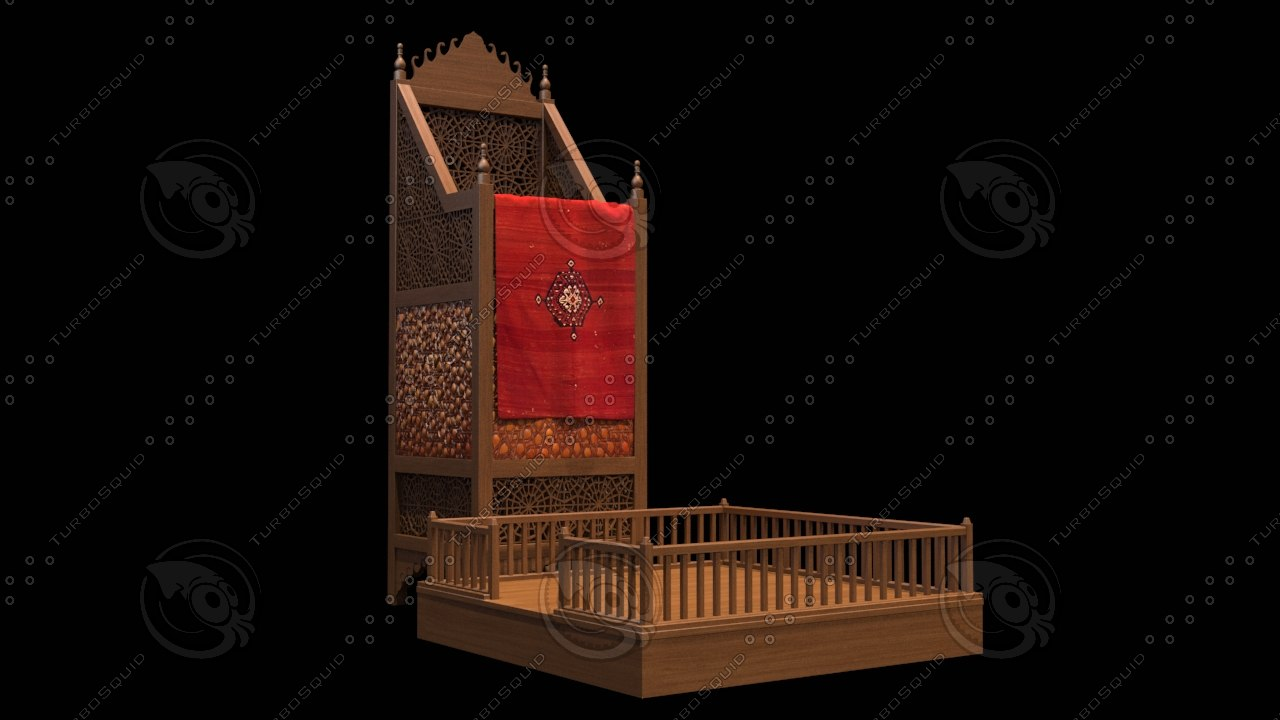 cami vaaz mosque 3D