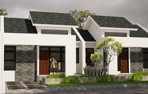 3D housing small model