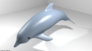 dolphin oceanic 3D model