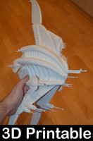 3D sharlin minbari warship model