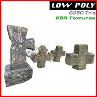 3D antique tombs