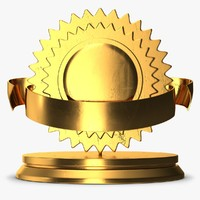 trophy 5 1 3D model