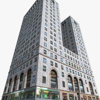 new york manhattan lexington 3D
