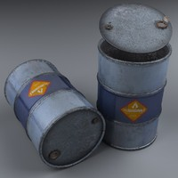 3D barrel modeled realistic