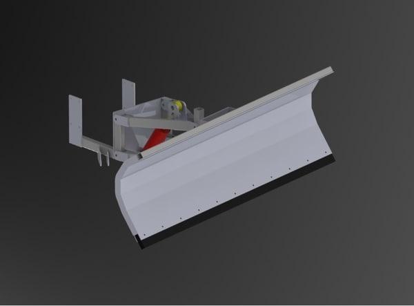 plow snow 3D model