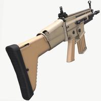 3D scar h l model