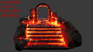 gate hell 3D model