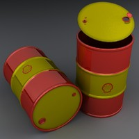 3D barrel modeled realistic model