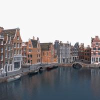 Amsterdam Port Scene