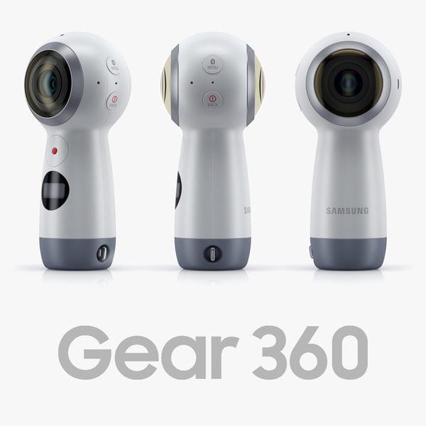 samsung gear 360 2017 3D model