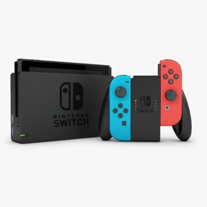 nintendo switch 3D