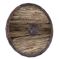 3D ready medieval shield