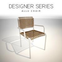 designer allu chair 3D model