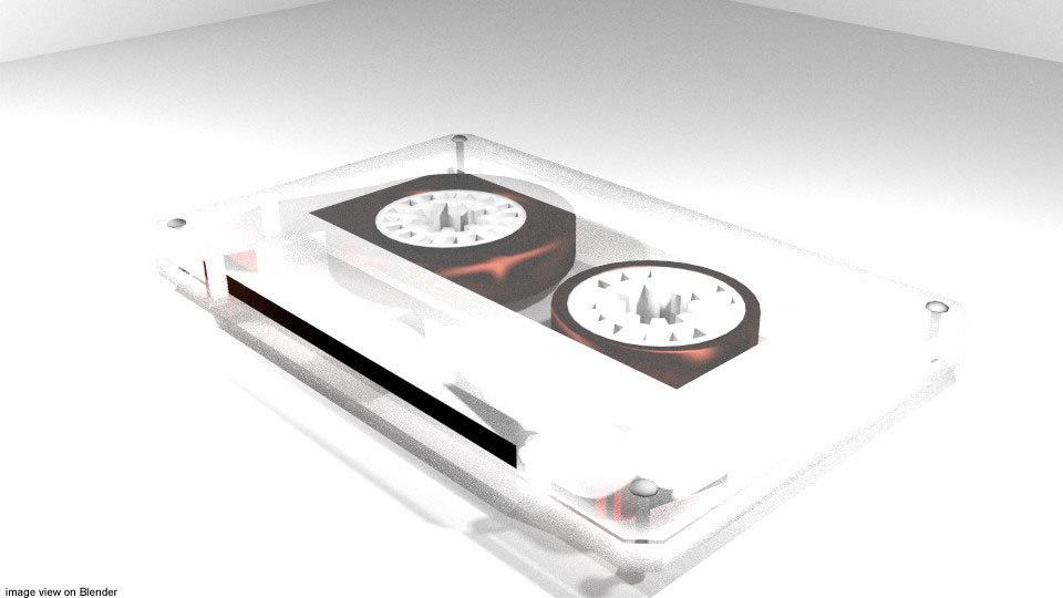 casette tape model