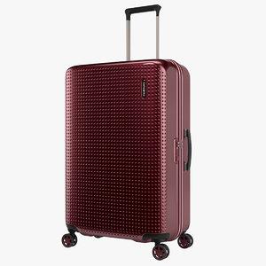 3D model samsonite pixelon suitcase 69cm