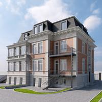 3D 19th villa