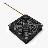 case fan 3D model