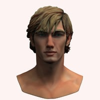 alex pettyfer 3D model