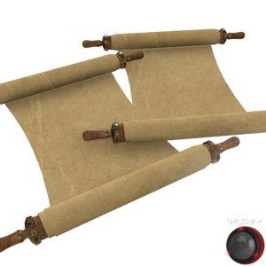 old scroll model