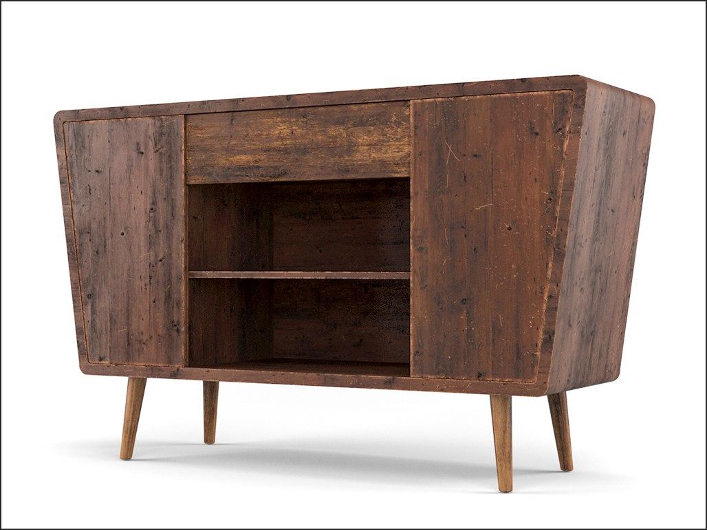 antique cabinet 3D model