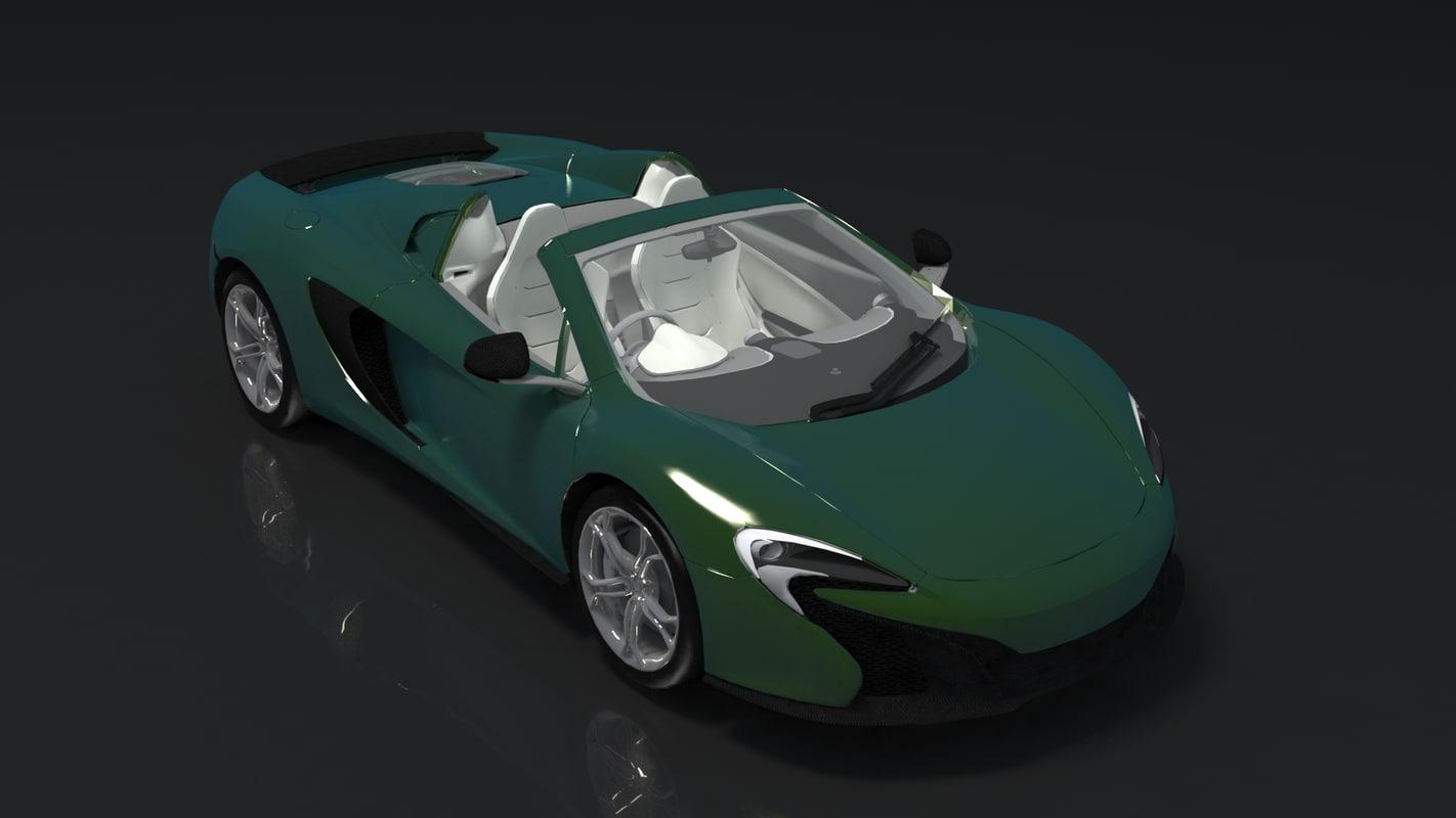 3D model car 3d
