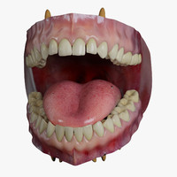 Realistic Human Mouth