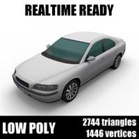 3D generic car sedan 004 model