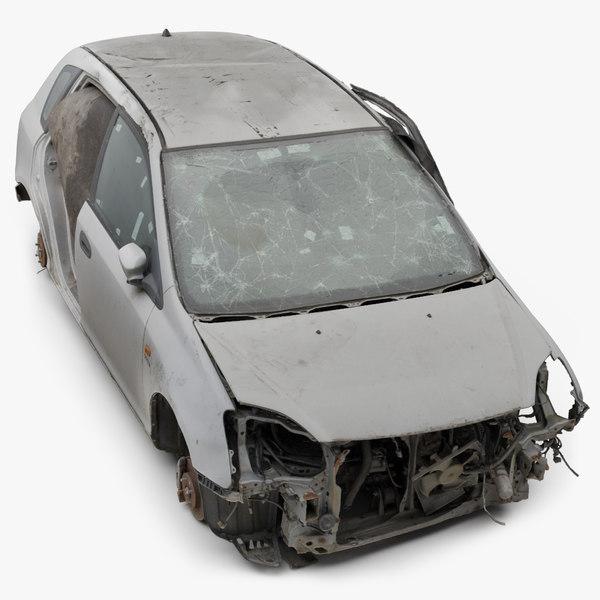 3D model raw scan honda car