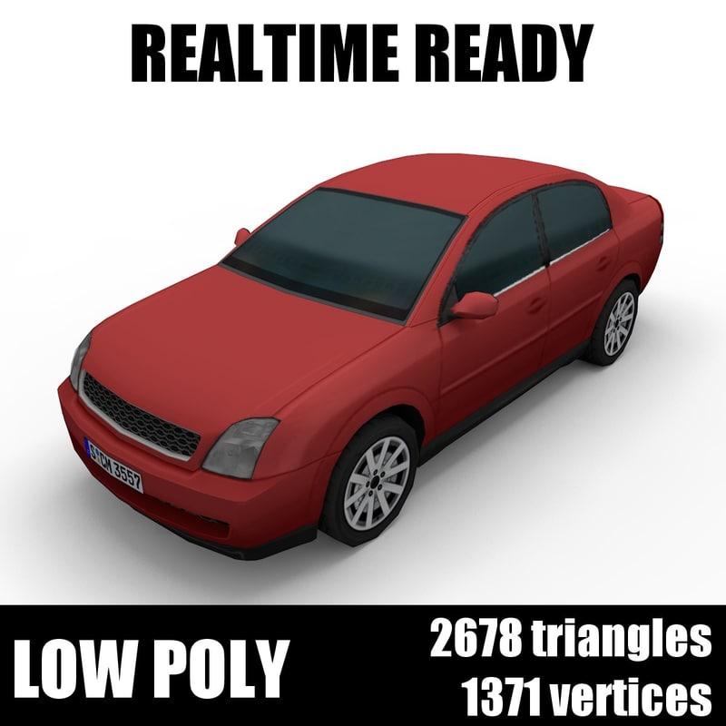 3D generic car sedan 005