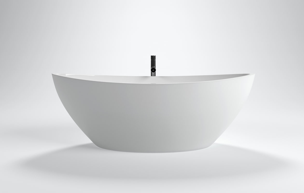 ... 3D Modern Design Freestanding Bathtub Model ...