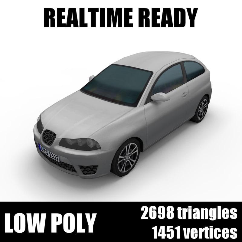 3D generic hatchback 002